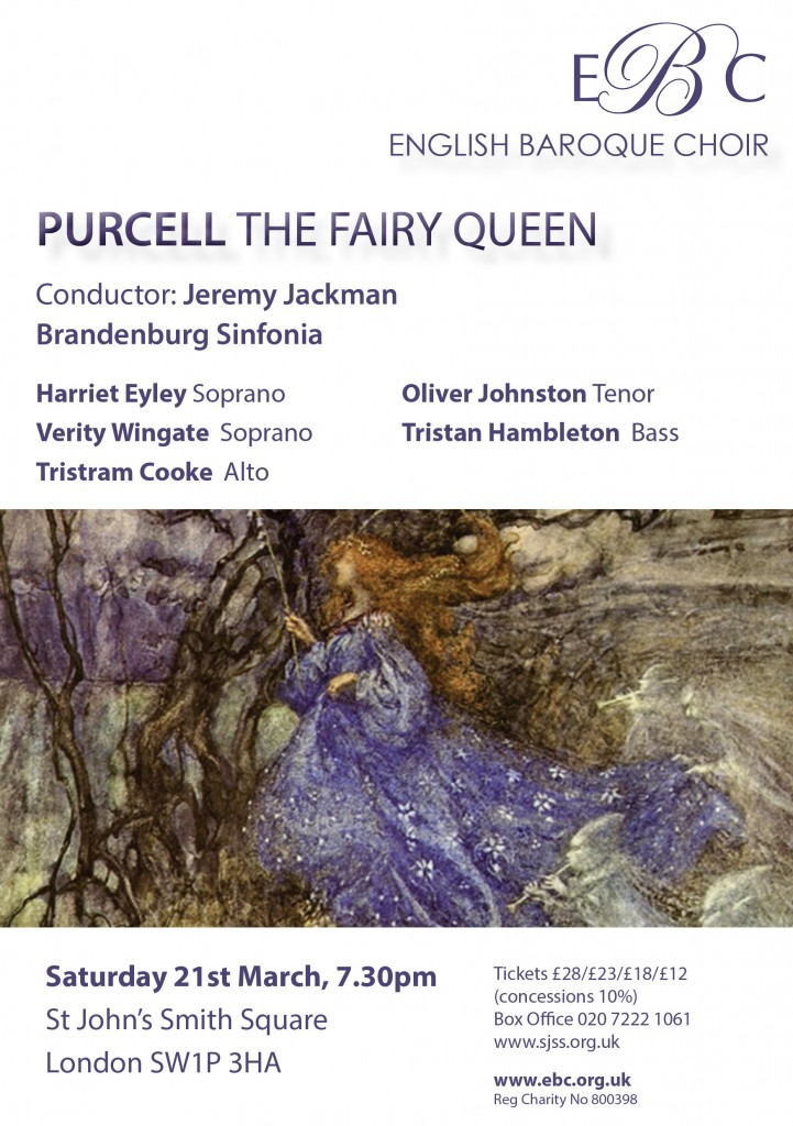 The Fairy Queen flyer